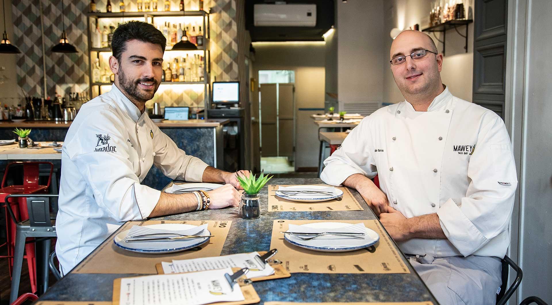 Chefs restaurante mexicano Madrid