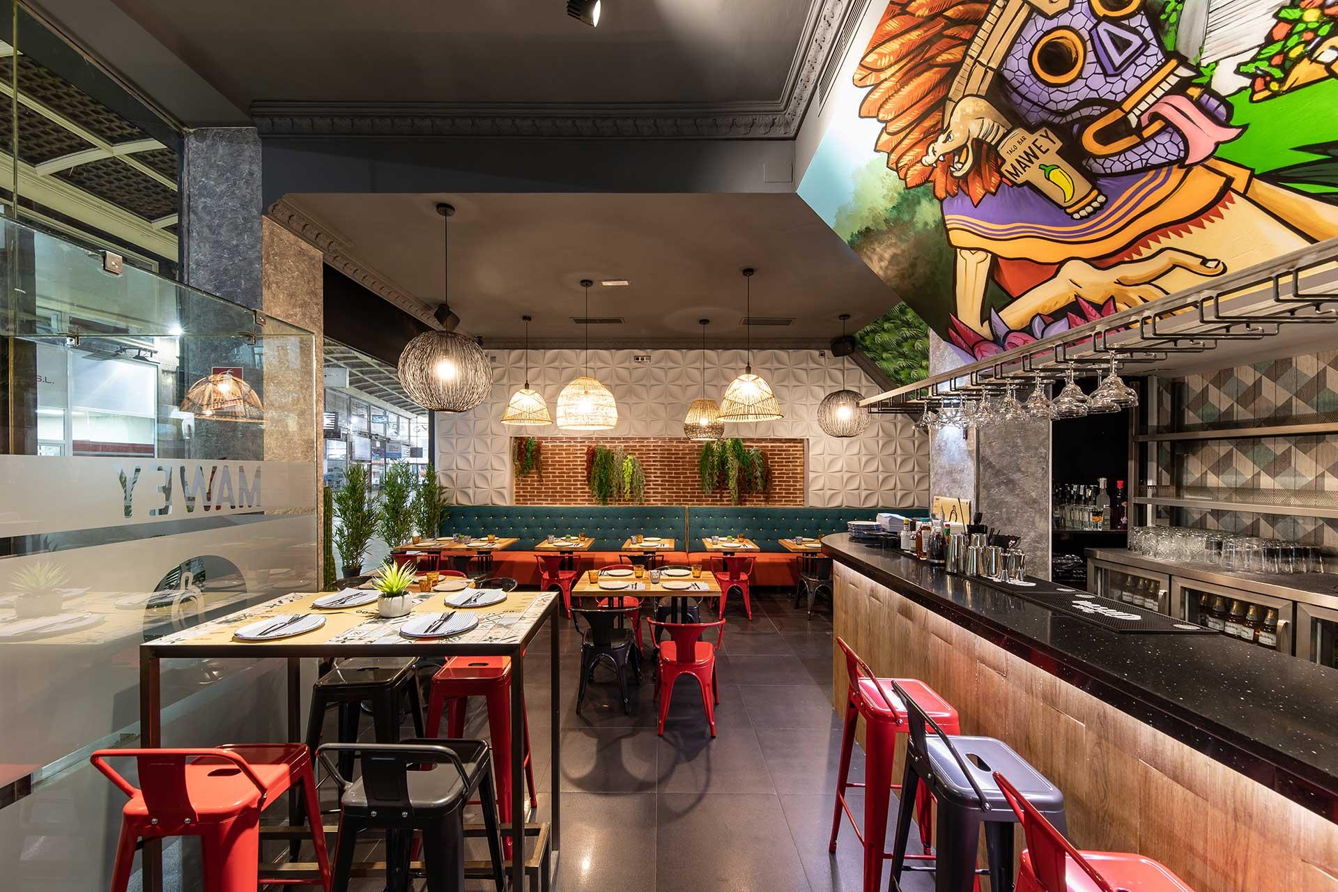Restaurante comida mexicana Gran vía