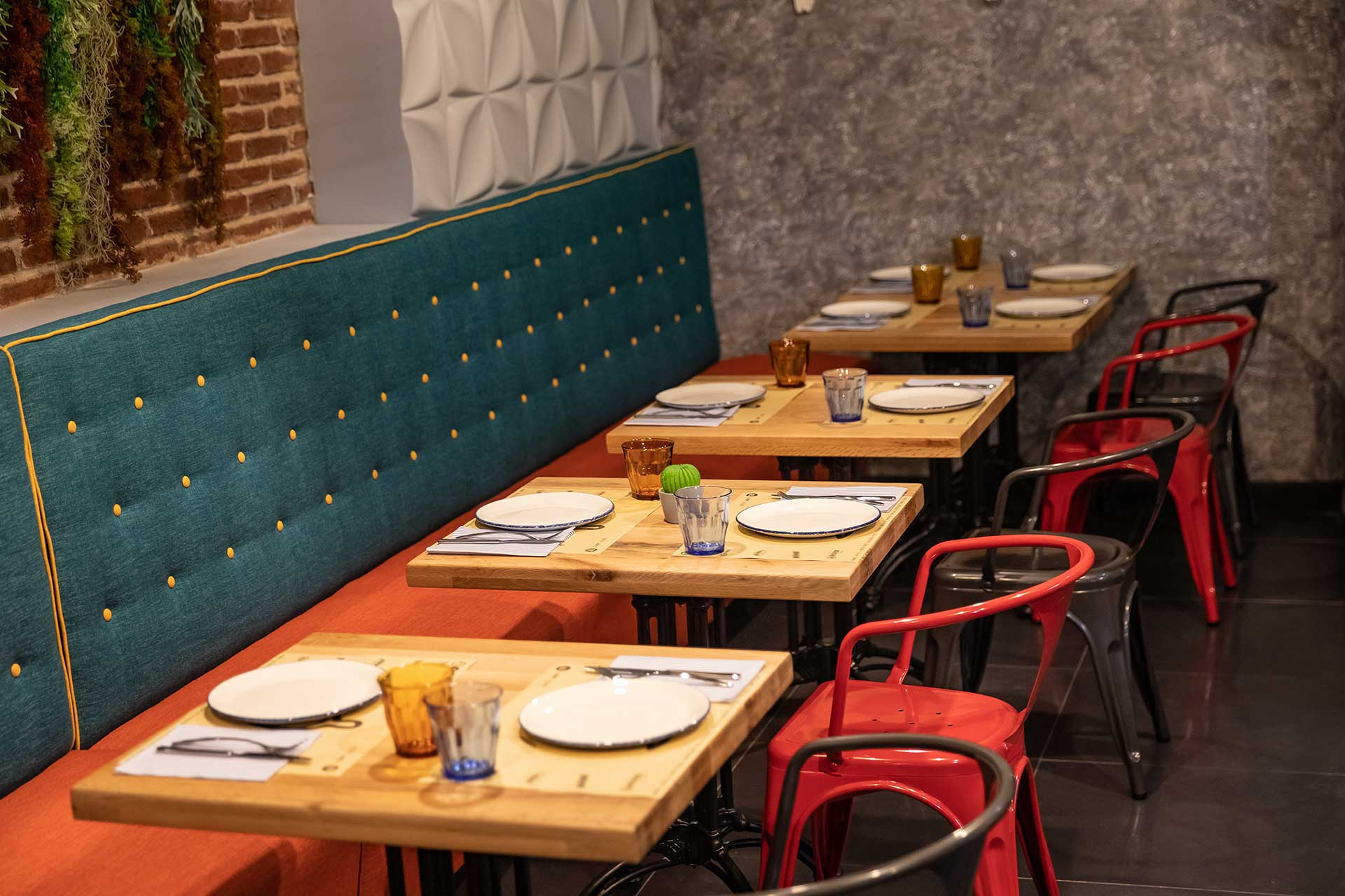 Taco bar Gran vía Madrid