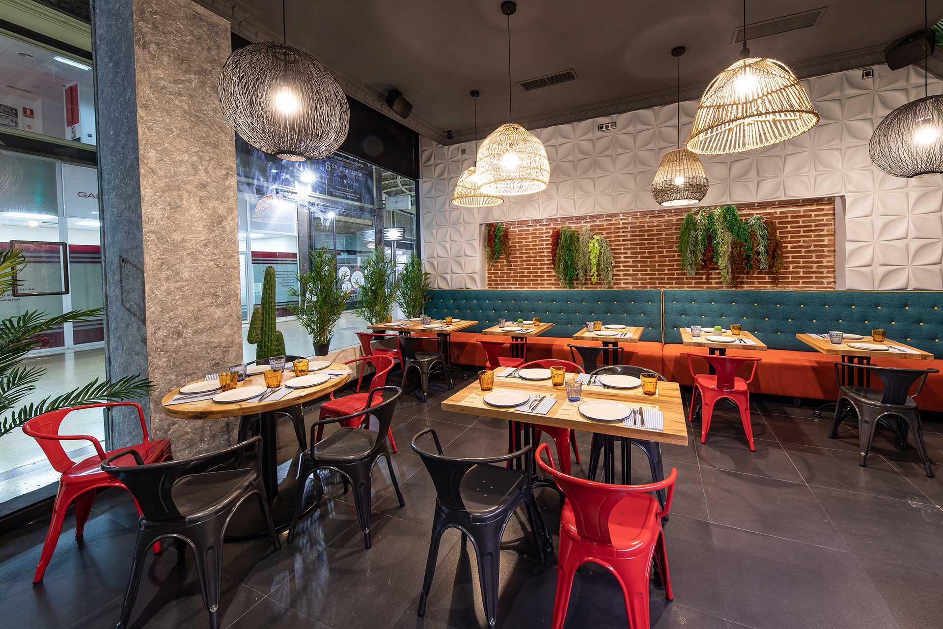 Restaurante mexicano Gran vía Madrid