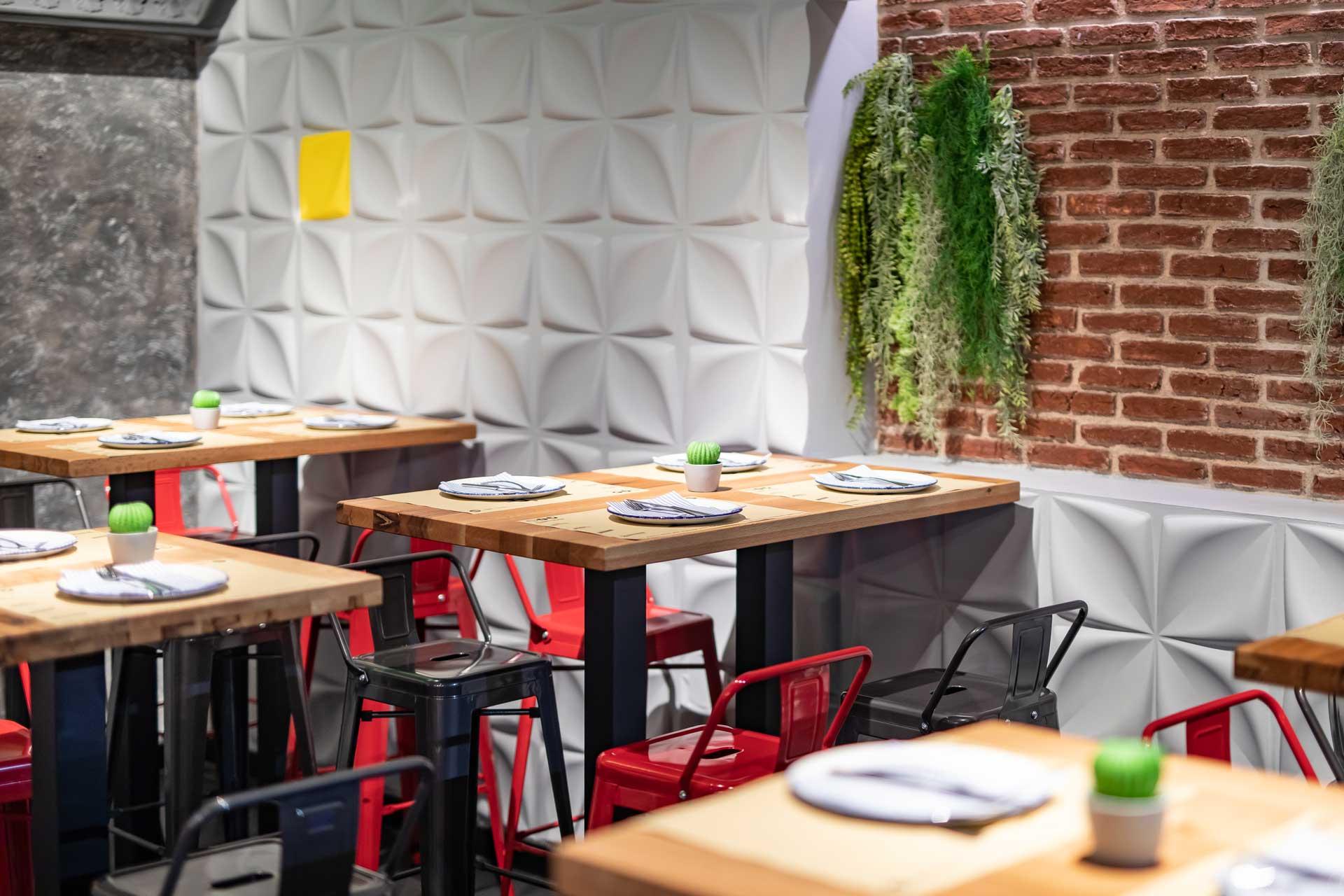 Restaurante de tacos en Gran vía Madrid